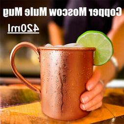 15 Oz Pure Copper Mug Cup Moscow Mule Coffee Drinking Campin