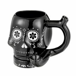 BLACK SKULL ROAST AND TOAST MUG