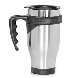 ONEB Car Cup,Travel Mug, 500ml With handle Stainless Steel T