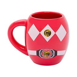 Power Rangers 18 Oz Ceramic Oval Mug