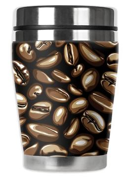 "Mugzie Coffee Beans""Mini"" Travel Mug with Insulated Wetsuit"