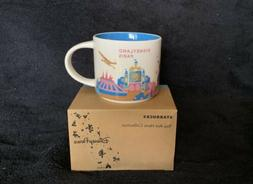 Starbucks Coffee Disney Parks You Are Here Collection Mug fr