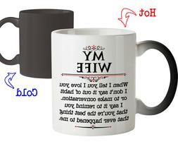 Coffee Mug Gift for Wife My Wife You're the Best Thing Happe