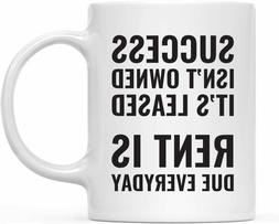 Andaz Press Coffee Mug with Success Quote