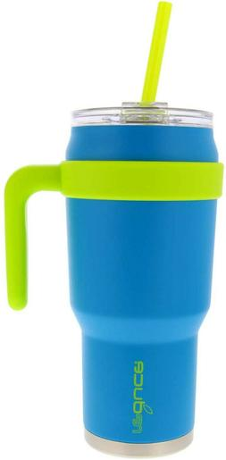 Reduce Cold-1 40 oz Insulated Coffee Mug With Straw and Lid