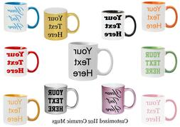 Customized Mugs 7 Ceramic Mugs to Choose From  Personalized