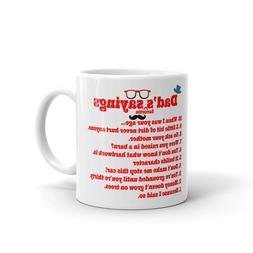 dad s favorite sayings fathers day coffee