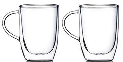 Home Fashions 10 oz. Double Wall Insulated Glasses