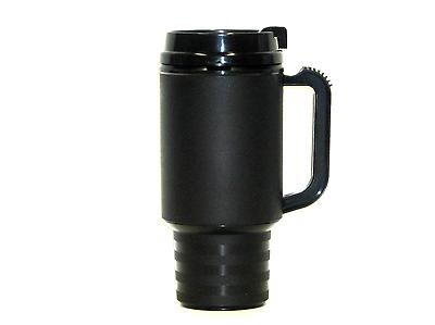 2 Cup Mugs Insulated Holds 18 ea Granite&Black USA*