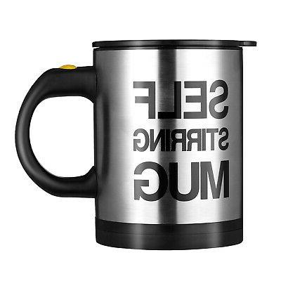 Automatic Coffee Cup Home Insulated Stainless 400ml