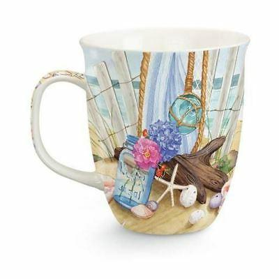 beach theme seaside gathering coffee mug beach