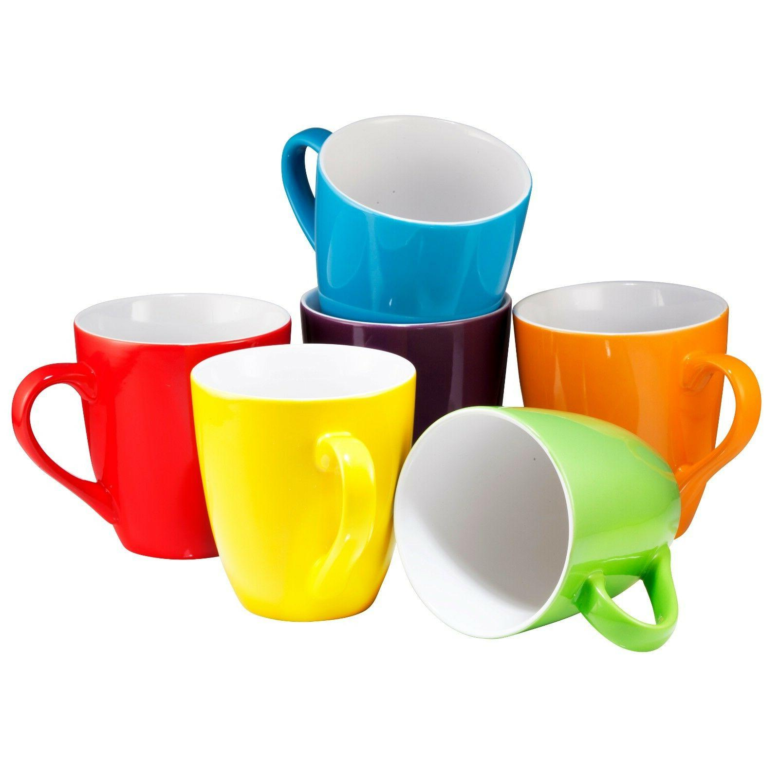 Coffee Cups of 6 Large-sized 16 Ounce