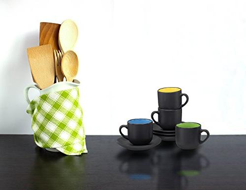 Espresso Cups with by ounce - Set of