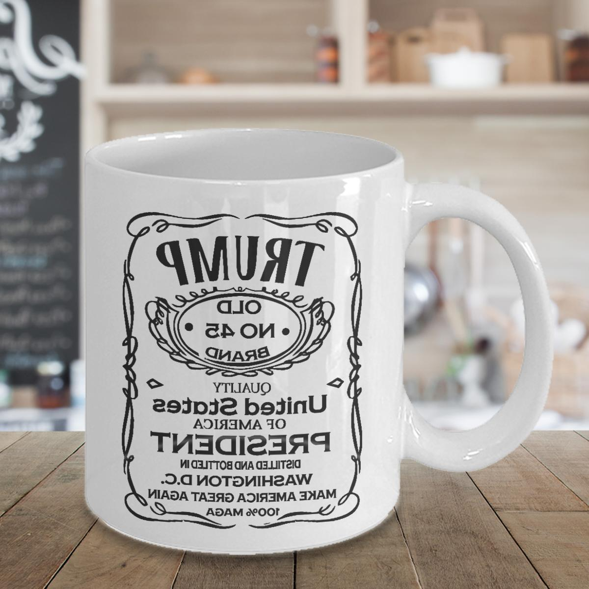 Funny 2020 Coffee Brand Political Gift