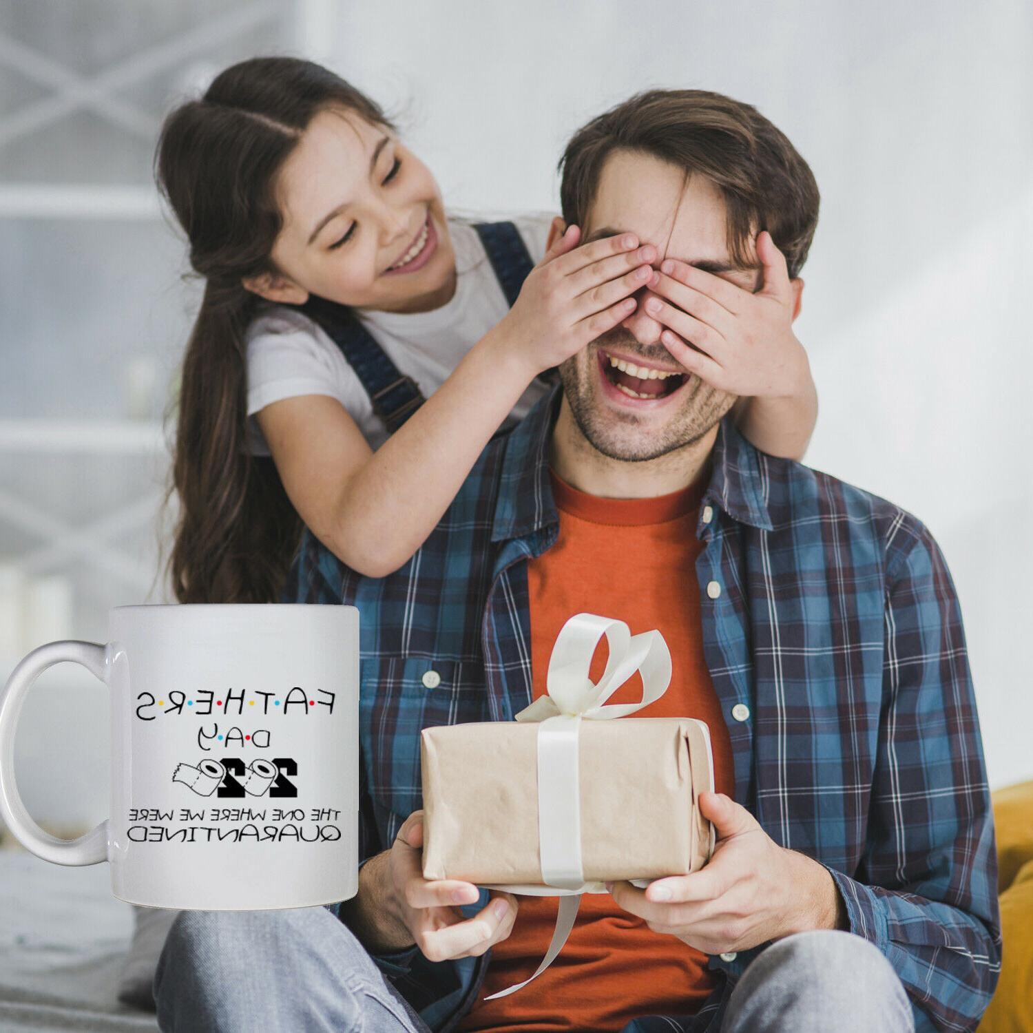Funny Fathers Day Quarantined Gift Father Dad Parody