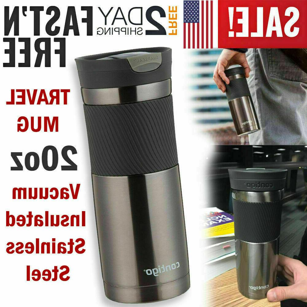 insulated travel mug stainless steel tumbler coffee