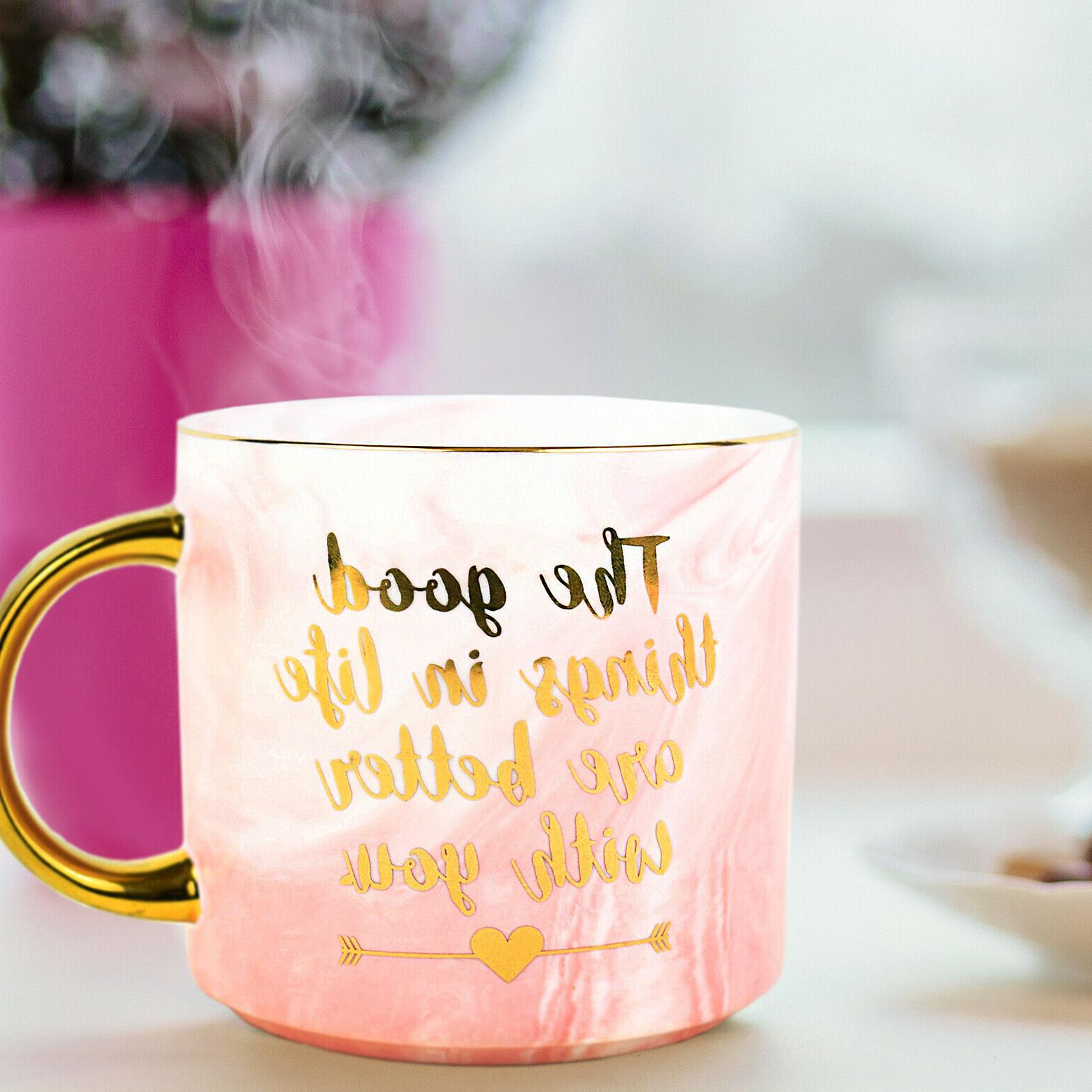 Marble Mug Better You Cup for Mom Wife Best