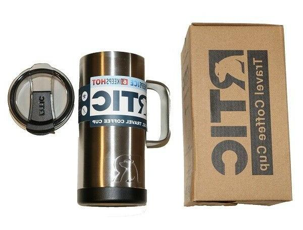 RTIC NEW oz Travel Coffee Cup Stainless Steel - Wall Insulated