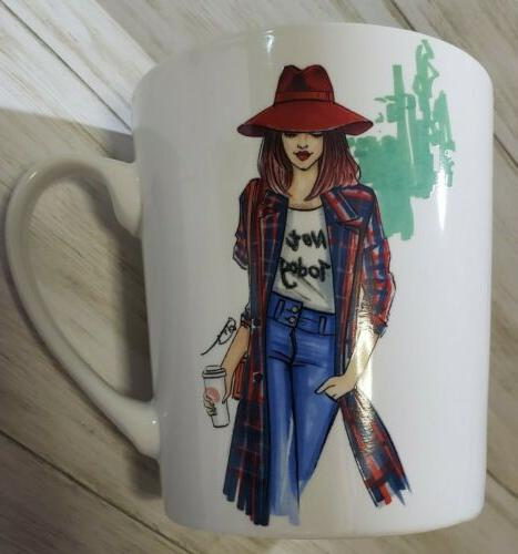 NEW Coffee Fashion Mug Glam Girl Today by Rongrong