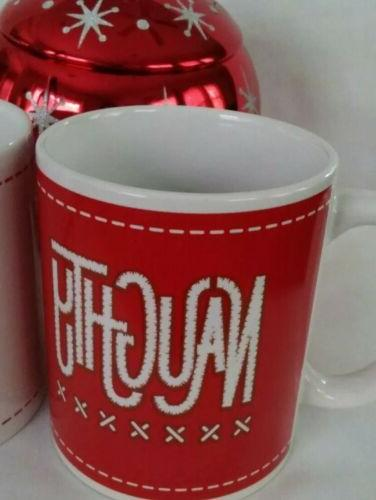NEW OF 2 NAUGHTY OR NICE MSRF DESIGN STUDIO CUP