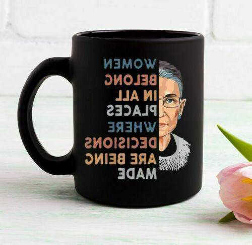 notorious rbg coffee mugs funny cup