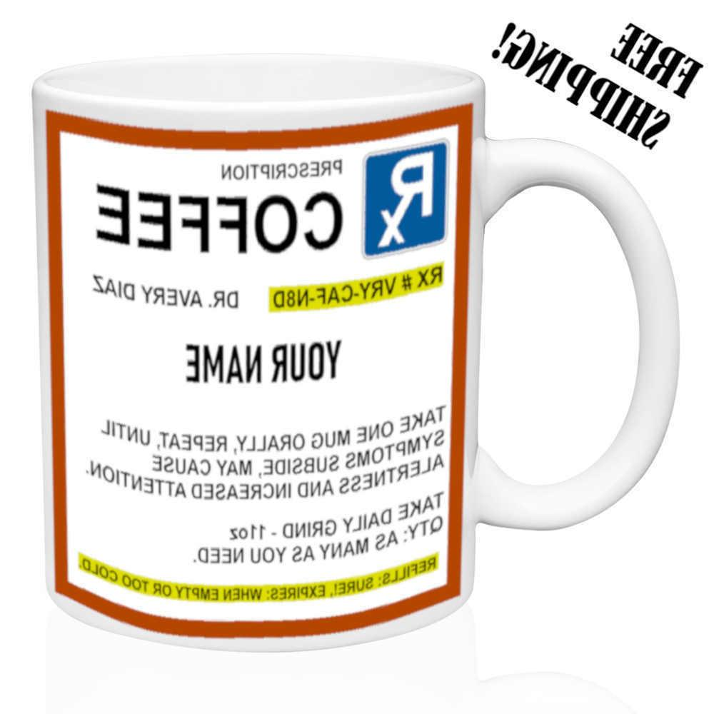 rx prescription strength coffee personalized name funny