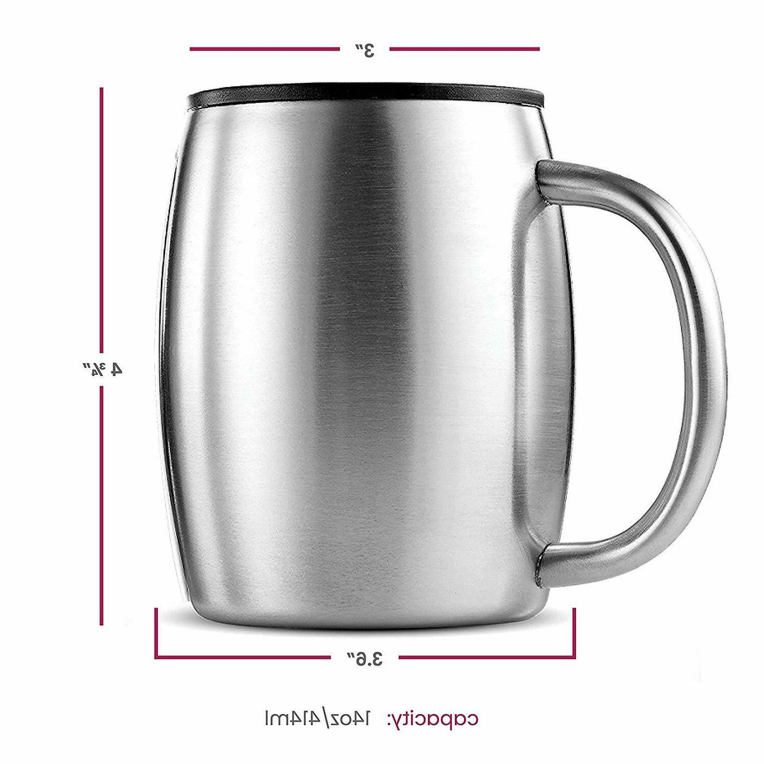 Stainless Steel with Walled BPA Free - oz