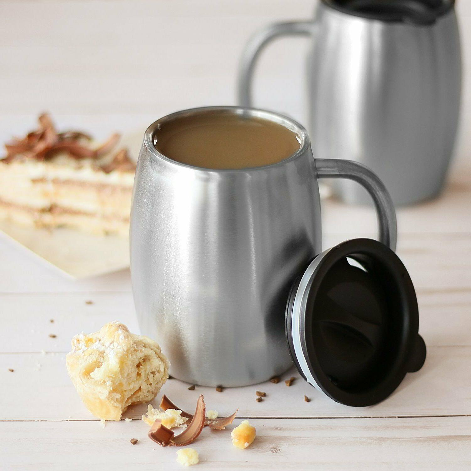 Stainless Steel Mugs with 14 Insul