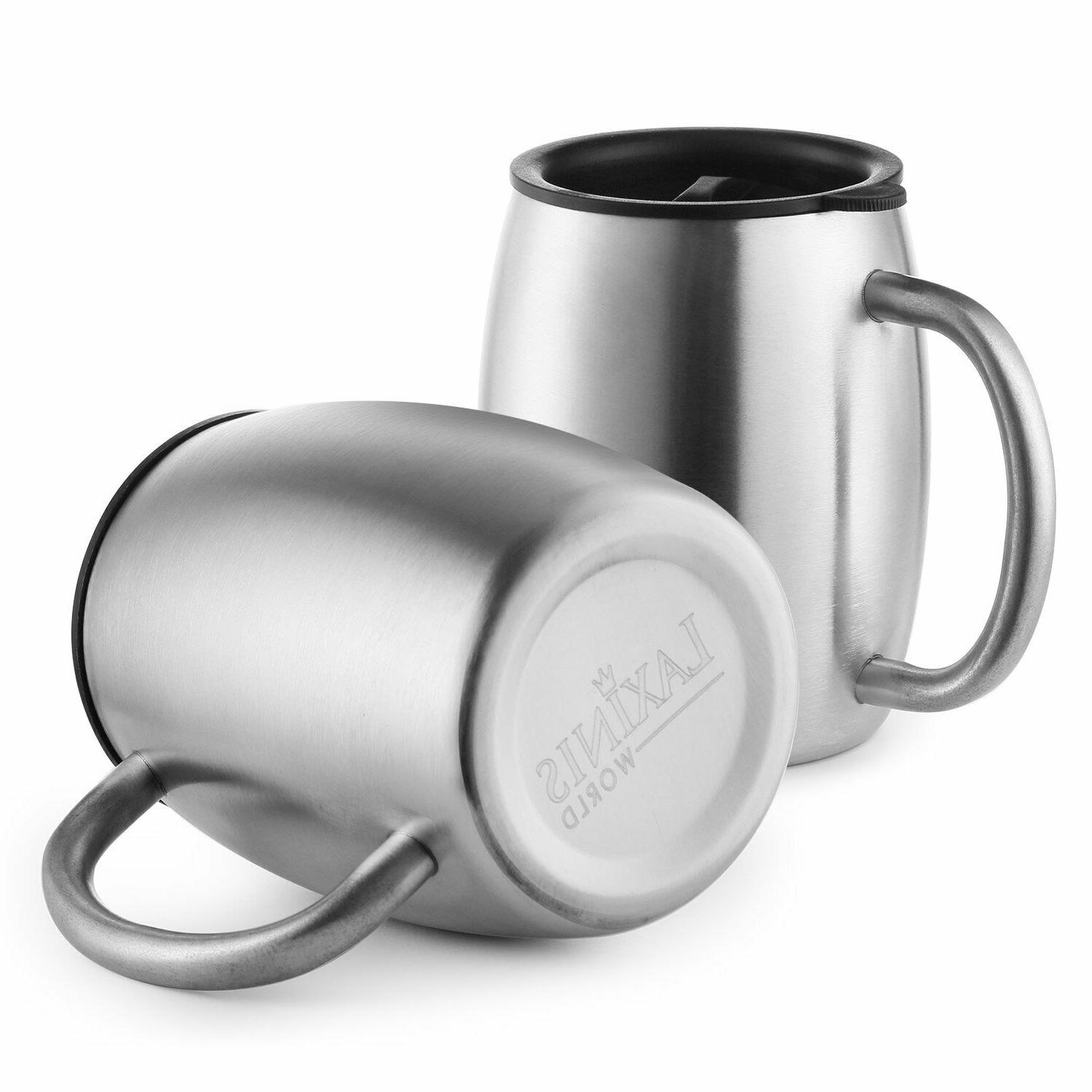 Stainless Steel with Resistant 14 Oz Double Insul