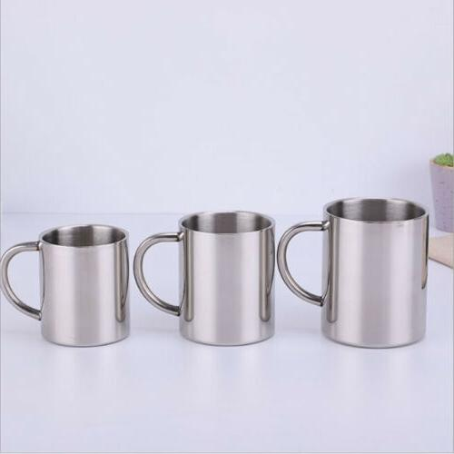 Stainless Steel Mug Outdoor Drink Picnic US