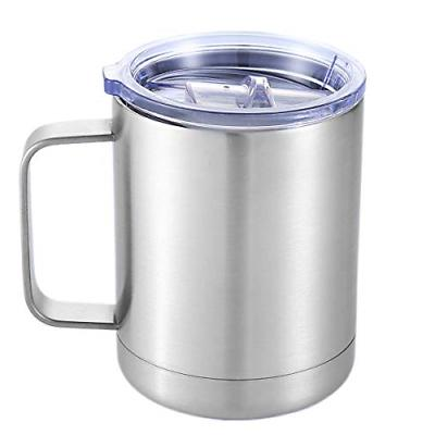 Stainless Steel Mugs - Double Wall Insulated Coffee Mugs Wit