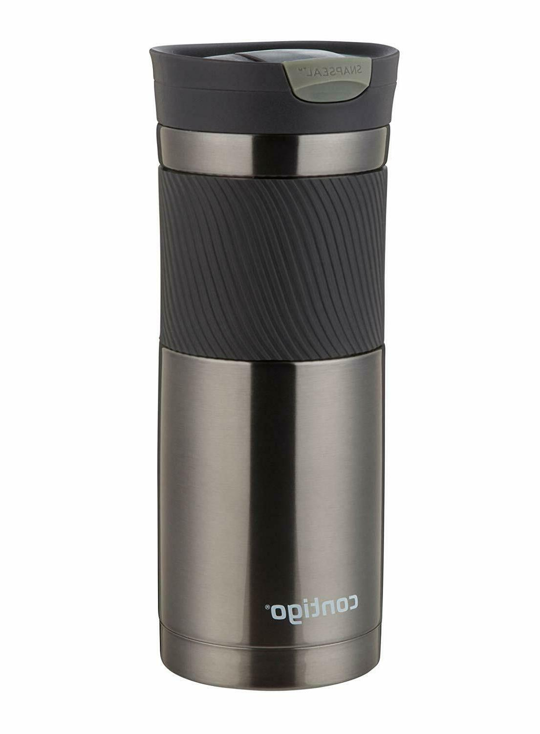 Insulated Travel Mug Steel Tumbler Cup Hot Water Thermos