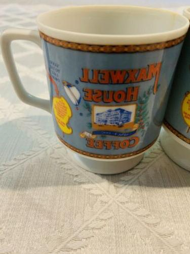VINTAGE 1970's MAXWELL COFFEE CUP MADE IN JAPAN