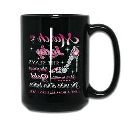 March Lady Upcoming Birthday, Valentines Day Coffee Mug For