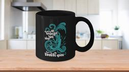 Mermaid Gifts for Women Sea Themed Unique Cups Coffee Mug