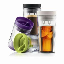 New BODUM Thermal Double Wall Anywhere Travel Mug Spill Proo