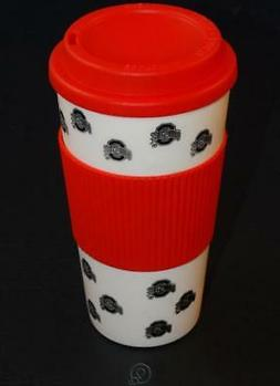 Ohio State Buckeyes 16 Ounce Tumbler Travel Cup Hot/Cold Cof