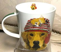 PPD Trend Mug xmas Dog & Kitty 13.5oz Coffee Paperproducts D