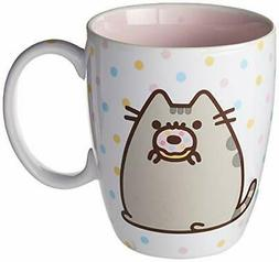 """Enesco Pusheen by Our Name is Mud """"Donut"""" Stoneware Coff"""