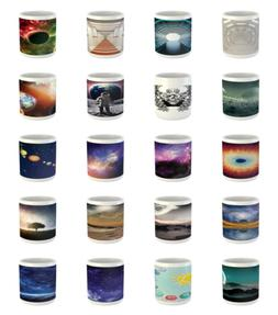 Ambesonne Space Galaxy Ceramic Coffee Mug Cup for Water Tea