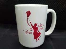DIsney Store MARY POPPINS Coffee Mug 15 Oz New THE ONE AND O