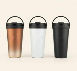 Thermos Mug With Handle 500ml Double Wall Stainless Steel Va