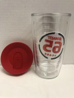 Tervis Tumbler 16 oz Brandt 65 years With Travel Lid coffee